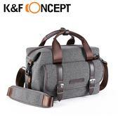【K&F Concept】休閒者 專業攝影單眼相機斜背包 斜側包(KF13.079)