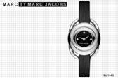 【時間道】[Marc Jacobs。錶]MARC JACOBS時尚名媛手環式腕錶 –黑面黑皮(MJ1445)免運費