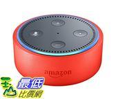 [7美國直購] Echo 兒童智能音箱 Dot Kids Edition, a smart speaker with Alexa for kids - punch red case