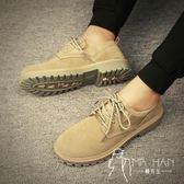 马丁靴  皮鞋 秋季男士馬丁靴男高幫男鞋雪地靴中幫靴子工裝鞋沙漠靴短靴男靴潮