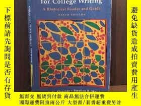 二手書博民逛書店Patterns罕見for College Writing: A Rhetorical Reader and Gu