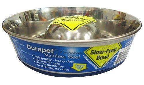 【培菓平價寵物網】美國OurPets《Slow-feed》慢食餐碗 (中大) 直徑23cm