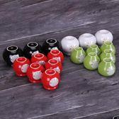 能量罐 尚赫歸元五通寶 五行能量罐凹底陶瓷火罐一套18個家用陶瓷拔罐器  DF  二度3C