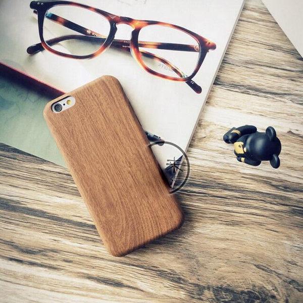iPhone7 手機殼 5s 蘋果Plus 保護套 6s 軟膠 原創 簡約 大氣 仿木紋 男 美樂蒂