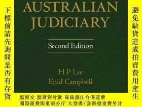 二手書博民逛書店The罕見Australian Judiciary 公平與正義Y