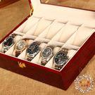 手錶盒珠寶首飾收納盒擺攤展示盒PU皮革錶盒戒指手鍊盒收納盒