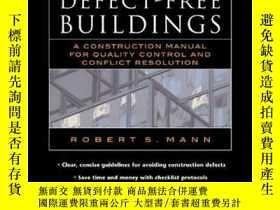 二手書博民逛書店Defect-free罕見BuildingsY255562 Mann, Robert S Mcgraw-hil