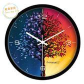 掛鐘創意時尚科技感時鐘個性現代裝飾設計感掛鐘時尚潮流靜音壁掛錶jy【全館好康八折】