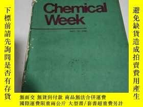 二手書博民逛書店Chemical罕見Week(化學周)DEC.21.1983(英