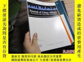 二手書博民逛書店jounal罕見of urban affairs the jou