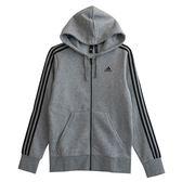 Adidas ESS 3S FZ B  連帽外套 CF5056 男 健身 透氣 運動 休閒 新款 流行
