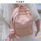 新款後背包女迷你小包ins少女心可愛粉色逛街用帆布小背包 黛尼時尚精品