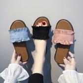 拖鞋女夏時尚外穿新款韓版百搭防滑涼拖