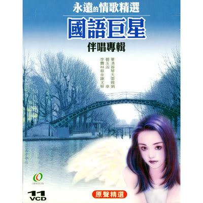永遠的情歌精選-國語巨星伴唱專輯VCD (原聲精選)