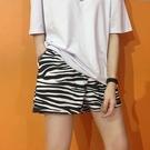 五分褲 休閒短褲女韓版寬鬆運動夏2021新款薄款百搭高腰港味外穿五分褲子 伊蒂斯