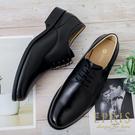 現貨 手工真皮男鞋推薦 極簡紳士-素面德比鞋 新郎婚鞋 商務皮鞋 38-46 EPRIS艾佩絲-紳士黑
