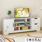 蔓斯菲爾電視柜現代簡約小戶型迷你地柜客廳簡易電視柜儲物背景柜【極致男人】