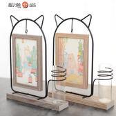 618好康又一發||韓式可愛貓咪擺臺相框6寸創意像框12