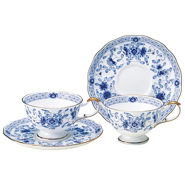 日本【鳴海 NARUMI】骨瓷MIRANO系列 茶杯 咖啡杯杯盤組 200cc