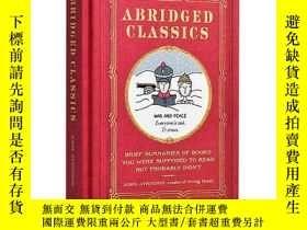 二手書博民逛書店名著摘要罕見英文原版 Abridged Classics: Br