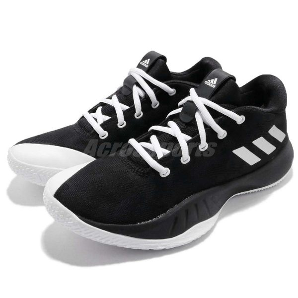 adidas 籃球鞋 NXT LVL SPD VI 黑 白 基本款 低筒 運動鞋 男鞋【PUMP306】 CQ0180