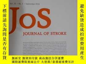 二手書博民逛書店JOS罕見journal of stroke vol.20 no