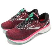 BROOKS 慢跑鞋 Ghost 11 魔鬼系列 十一代 紅 白 DNA動態避震科技 運動鞋 女鞋【PUMP306】 1202771D017
