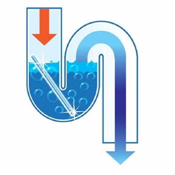 水管疏通去汙棒(檸檬)神奇強力水管去污棒 下水道清潔棒 新款去汙棒排水管清理器下水道疏通器