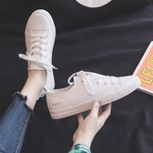小白鞋透氣薄款小白鞋女鞋春季新款爆款春夏百搭平底白鞋夏季鞋子【快速出貨八折促銷】