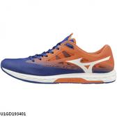 Mizuno Wave Sonic 2 U1GD193401 男鞋 運動 慢跑 路跑 馬拉松 吸震 競速 美津濃 藍橘