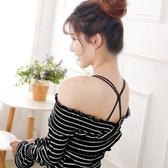 肩帶2送1性感中國結美背交叉肩帶防滑隱形內衣肩帶配件透明無痕一字領快速出貨