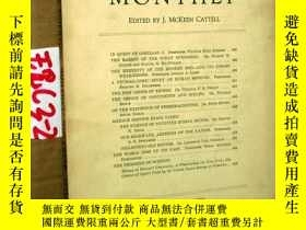 二手書博民逛書店SCIENTIFIC罕見MONTHLY 科學月刊1935年11月