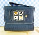 【震撼精品百貨】日本精品百貨-BEAR-小提袋-深藍