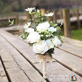 婚紗影樓攝影拍照道具新娘手捧花結婚新款旅拍仿真韓式婚紗照花束魔方數碼館