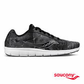 SAUCONY IDEAL 女性專屬運動生活鞋款-黑x灰x印花