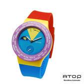 ATOP|世界時區腕錶-24時區國旗系列(Crazy)