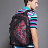 電腦後背包 雙肩包男書包女初高中學生大學生旅行包時尚潮流休閒青年新款 js14610『Pink領袖衣社』