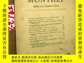 二手書博民逛書店SCIENTIFIC罕見MONTHLY 科學月刊1937年10月