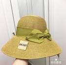 遮陽帽 草帽遮陽帽子uvcut漁夫帽日本...