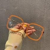 網紅方形防藍光眼鏡女