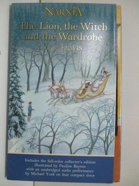 【書寶二手書T6/原文小說_DPA】The Lion, the Witch and the Wardrobe_Lewis, C. S