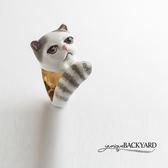 yunique Backyard  摺耳貓系列戒指