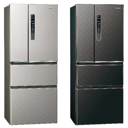 Panasonic國際牌 【NR-D500HV-S / K】500L變頻無邊框四門電冰箱
