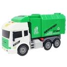 寶樂星 環衛車 垃圾車 9834A-B (附電池)/一台入(促350) 慣性動力垃圾車 有音效燈光 -生K3965