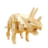 [Robotime]聲控3D木質拼圖模型-三角龍