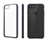 【唐吉】SwitchEasy Flash iPhone 7 Plus 金屬質感邊框軟質保護套, 午夜藍