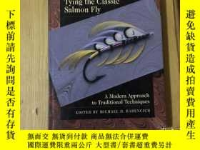 二手書博民逛書店tying罕見the classic salmon flyY92