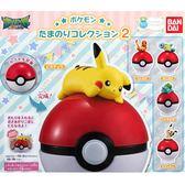 全套5款【日本正版】精靈寶可夢 精靈球公仔 P2 扭蛋 轉蛋 神奇寶貝 BANDAI 萬代 - 295174