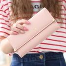 長夾/手拿包 日韓版錢包女長款零錢包超薄錢包拉鍊多卡位女式手拿包大容量錢夾
