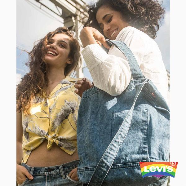 Levis 托特包 / 牛仔縫線 / Pride限量系列